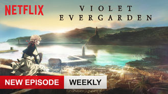 Netflix box art for Violet Evergarden - Season 1